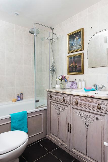 Basement Flat London Traditional Bathroom London