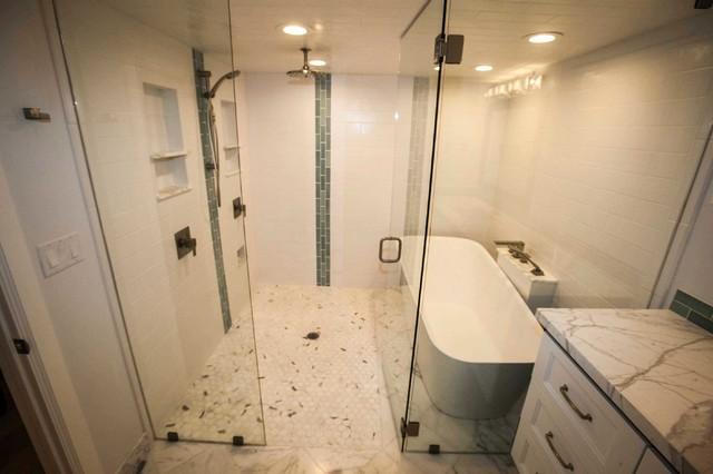Basement Master Suite Modern Bathroom Salt Lake City By Fine Remodel