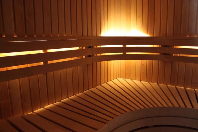 Basement Sauna In Woodstock, NY