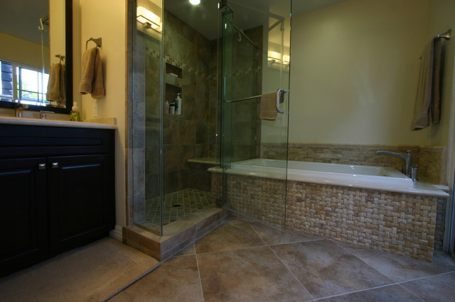 Basketweave Master Bath