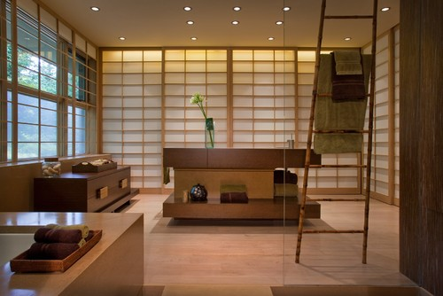 Japanese inspired interior design