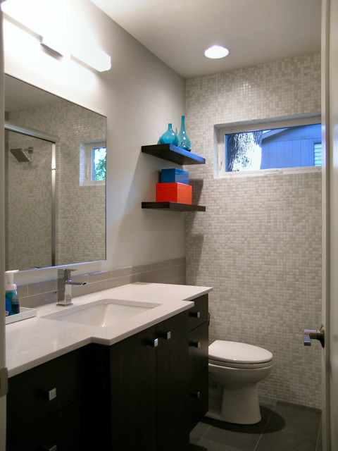 Bath addition and remodel contemporary bathroom for Bathroom remodel under 5k