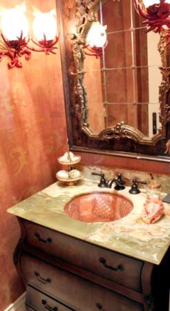 Bath & Spa tropical-bathroom