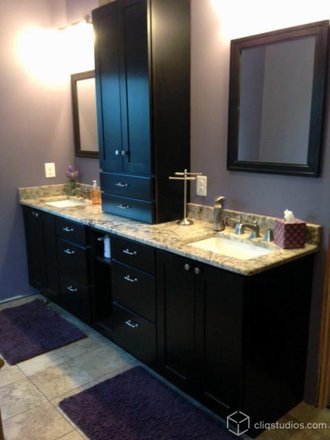 Bath Cabinetry Modern Bathroom Richmond By Cliqstudios