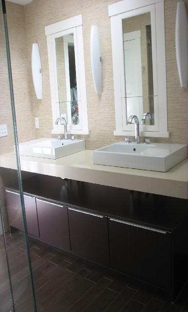 Bath cabinets contemporary-bathroom