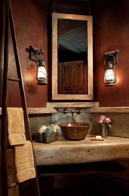 Traditional Half Bathrooms