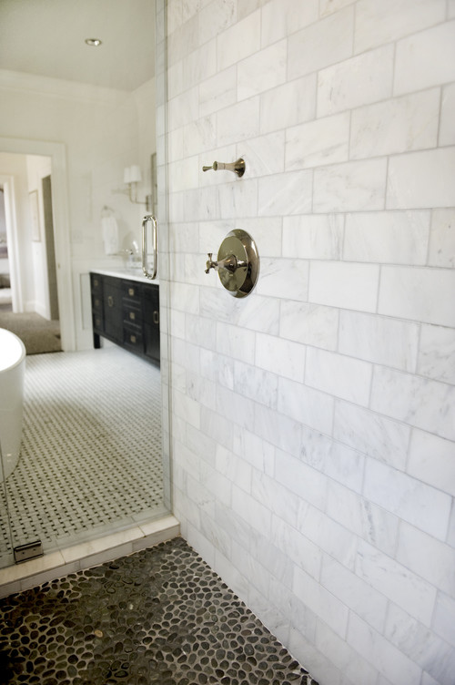 Good Is The Shower Walls Carrara Marble? What Size Marble Tiles?