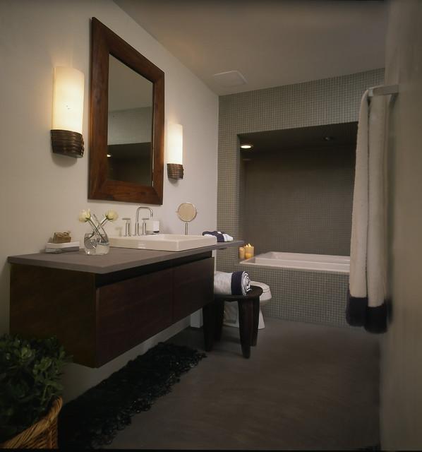 Bath transitional-bathroom