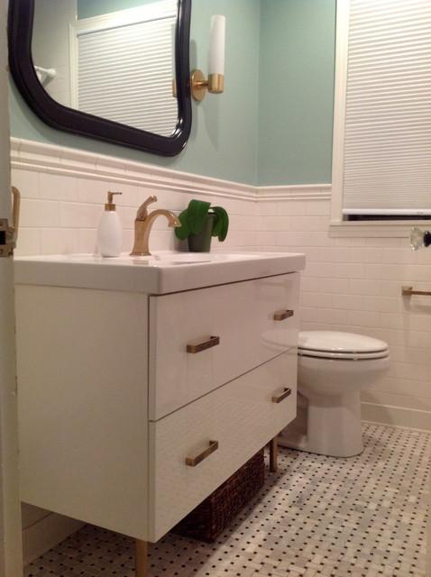 Bath rehab contemporary bathroom chicago by ajd for Bathroom rehab