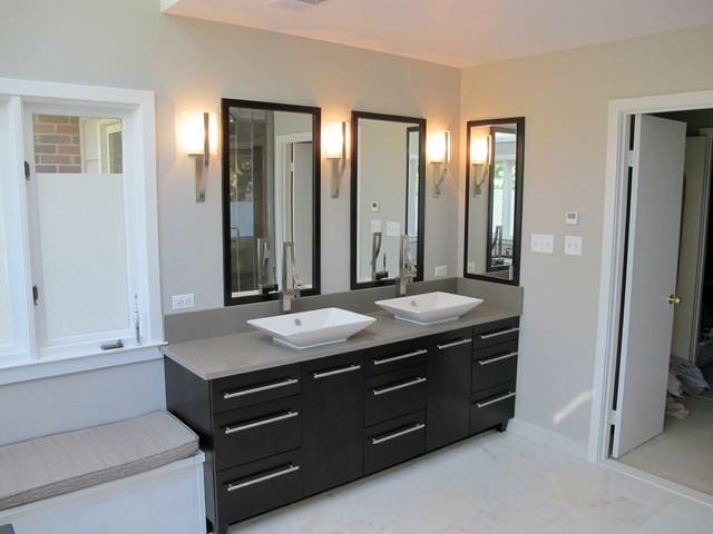 Bath remodel 1 alexandria va for Bathroom vanities alexandria