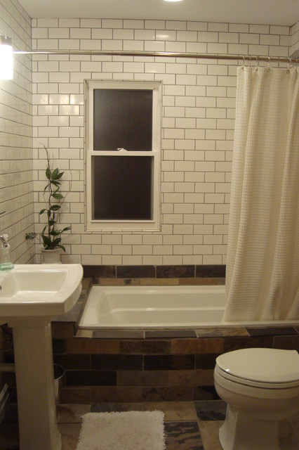 Bath remodel after traditional bathroom birmingham for Bath remodel birmingham al