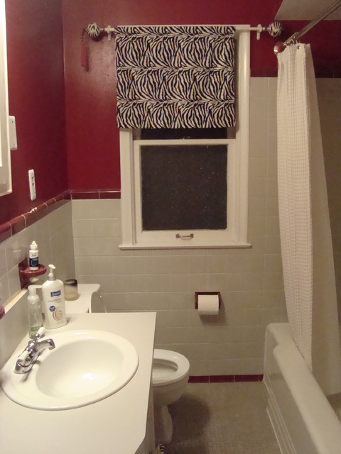 Bath Remodel Before Traditional Bathroom Birmingham By Kristen Shellenbarger Designs