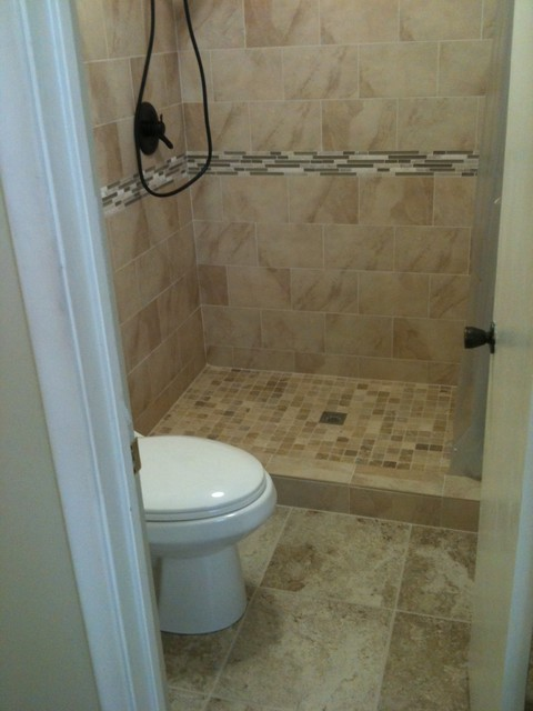 Bath Remodel Oil Rubbed Bronze Look Contemporary Bathroom