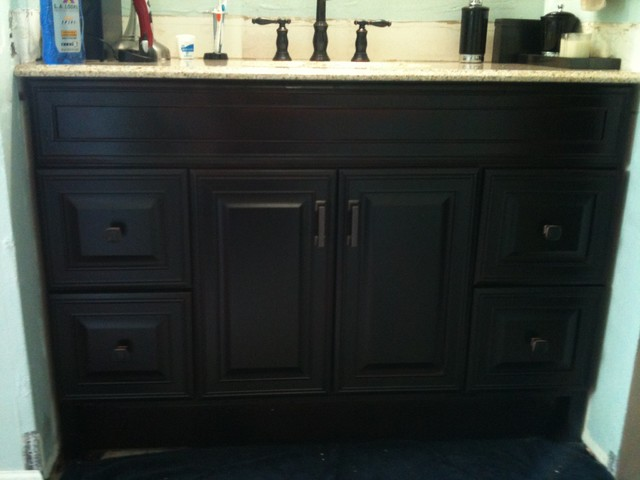 Bath Remodel - Oil Rubbed Bronze Look - Contemporary - Bathroom - Miami