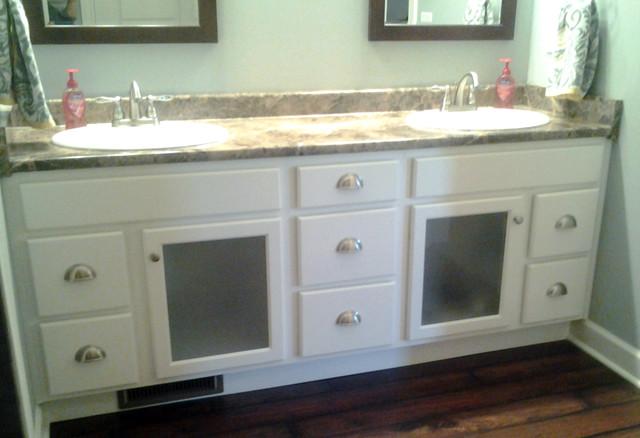 Bath Remodels transitional-bathroom