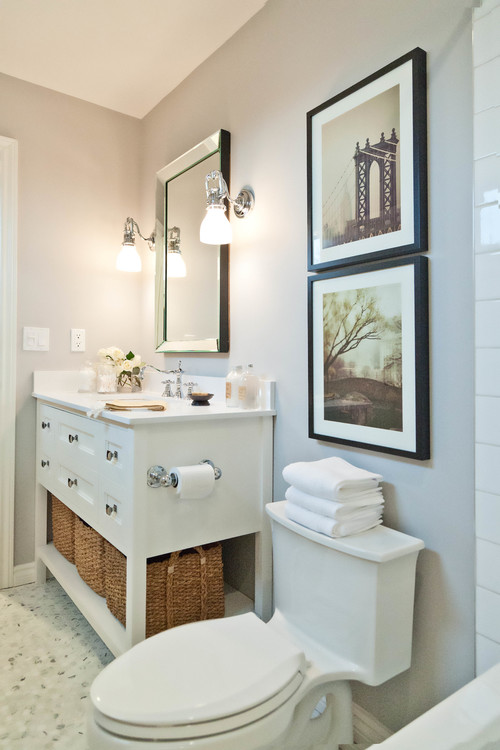 Storage solutions for small bathrooms the caldwell project for Small bathroom solutions