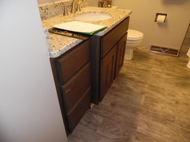 Bath Vanity Cabinet And Granite Top Birnamwood Wi