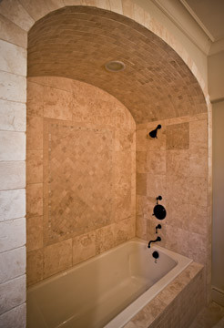 The Tile Shop: Design by Kirsty: Arches Over Bathtubs