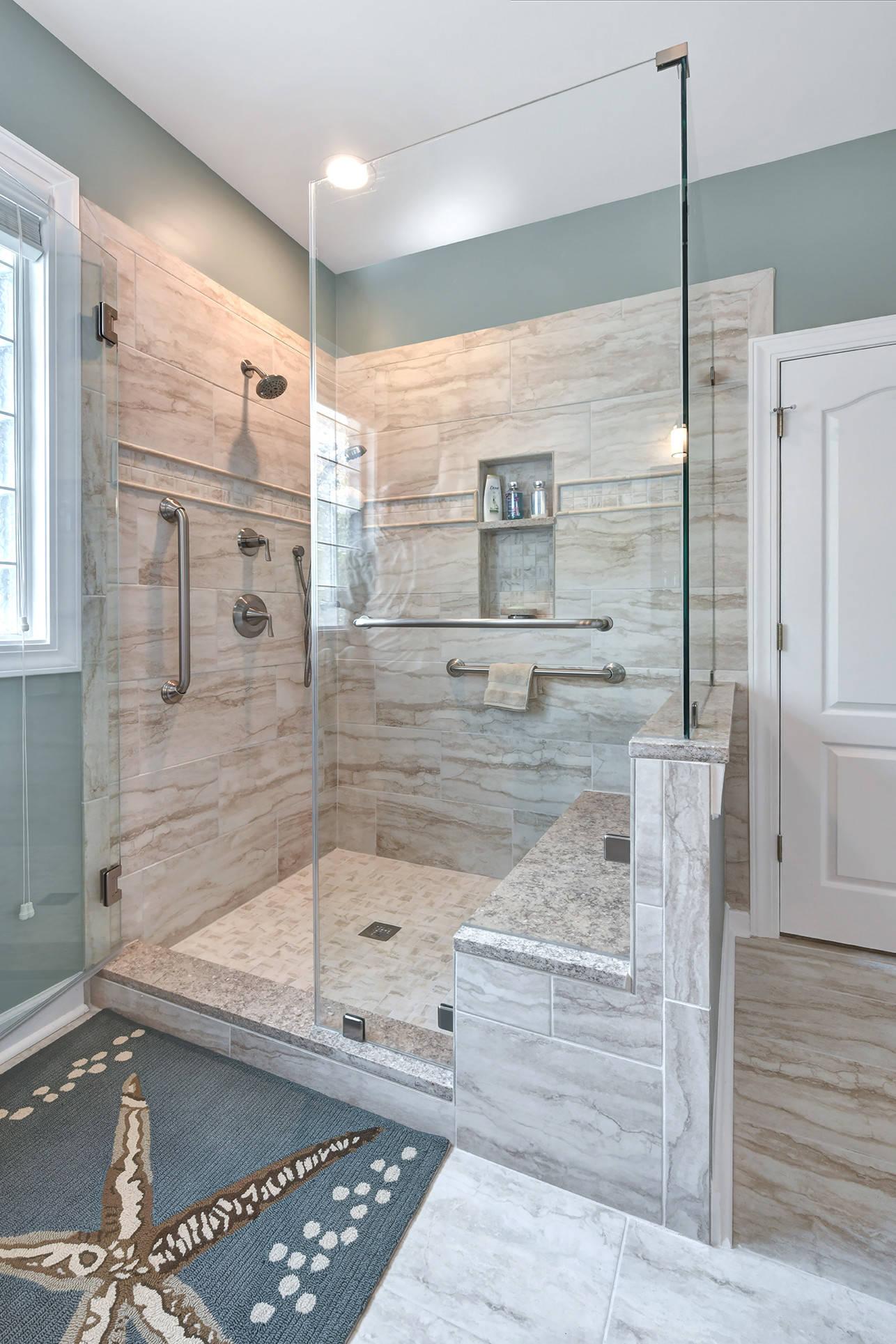 75 Beautiful Coastal Bathroom Pictures & Ideas - January, 2021   Houzz