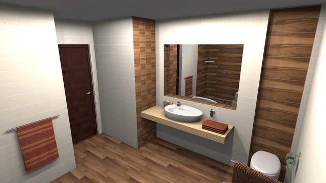 Bathroom 3d design modern bathroom toronto by polmaster tile centre 3d design studio - Bathroom design studio ...
