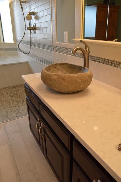Bathroom/Addition - Wright modern-bathroom