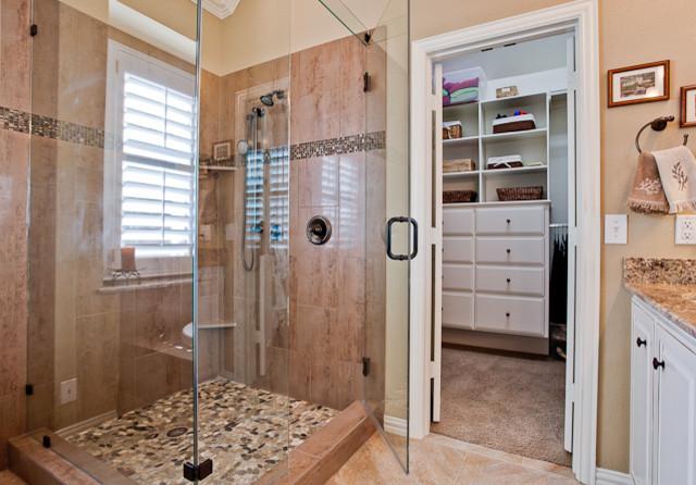 Bathroom and Closet Remodel traditional-bathroom