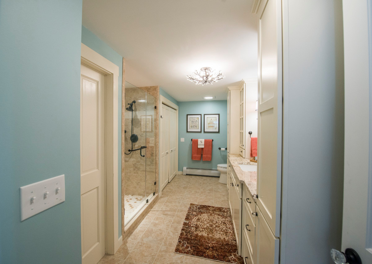 Bathroom and Hallway Redesign