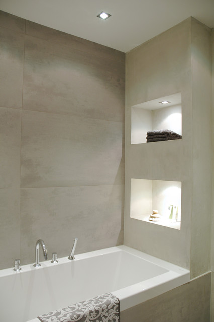 Bathroom Modern Bathroom Amsterdam By April And May - How to clean bathroom wall tiles easily