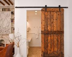 Bathroom Barn Door eclectic-bathroom