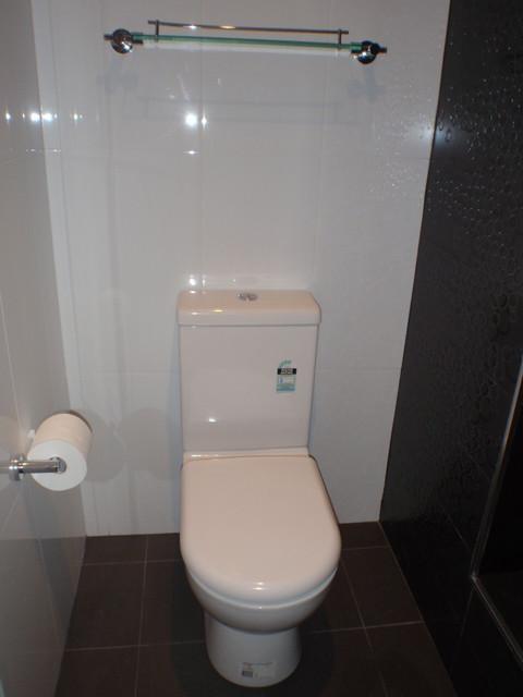 Bathroom renovations penrith - Bathroom Black And White Austile Ceramics