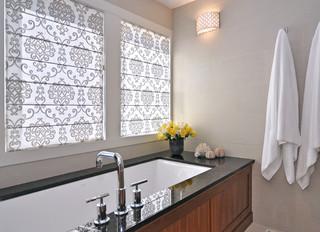 Bathroom transitional bathroom calgary by bruce for Bathroom decor calgary