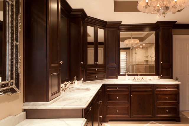 bathroom cabinets with stylish elegance traditional bathroom