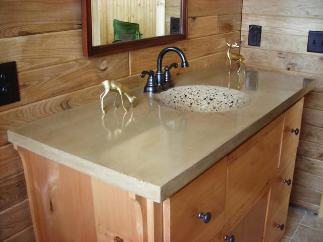 Bathroom Concrete Sinks Traditional Bathroom Minneapolis By Living St