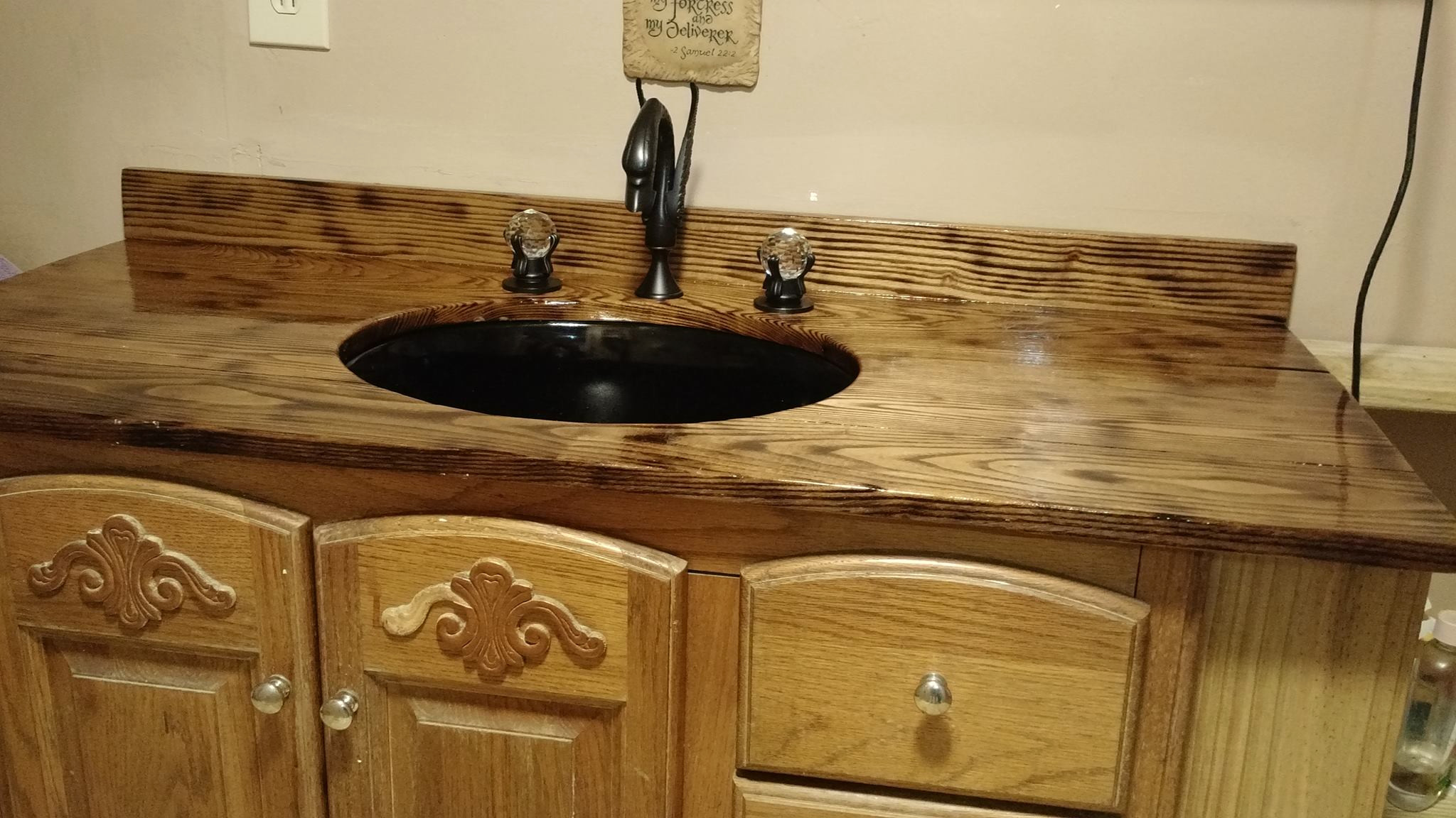 Bathroom Countertop Design