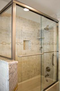 Bathroom design and remodel with beige grey tile for Bathroom tile philadelphia