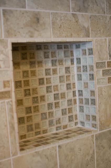 Bathroom Design And Remodel With Beigegrey Tile Traditional - Bathroom tile philadelphia