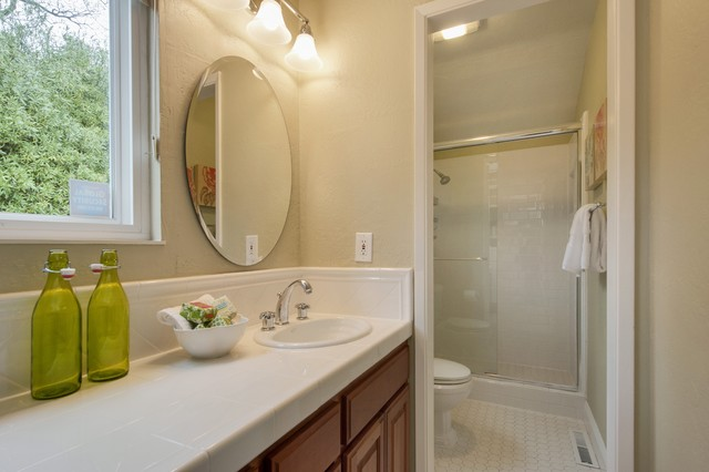 Bathroom Design Inspiration - Lafayette CA Homes Staged to Sell traditional-bathroom