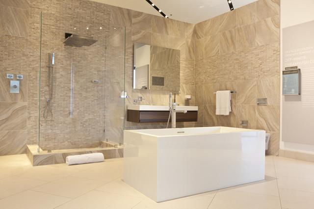 Bathroom Design - Pirch Showroom - Modern - Badezimmer - Orange ...