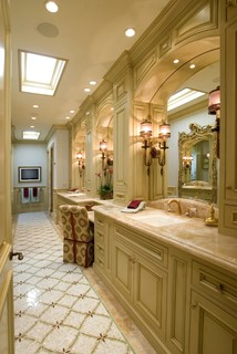 traditional bathroom orange county by details a design firm