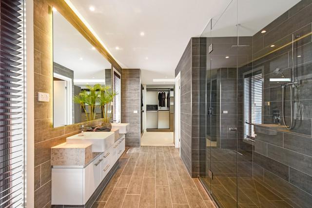 Astounding Bathroom Displays Contemporary Bathroom Melbourne By Interior Design Ideas Gentotryabchikinfo