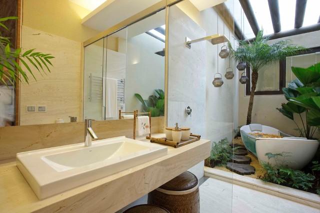 Captivating Bathroom Tropical Bathroom