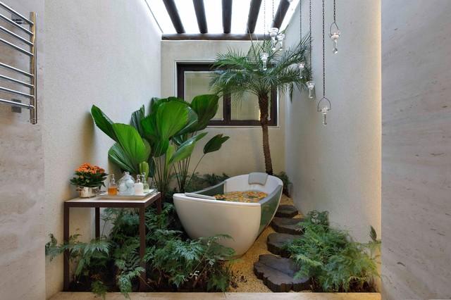 Bathroom tropical-bathroom