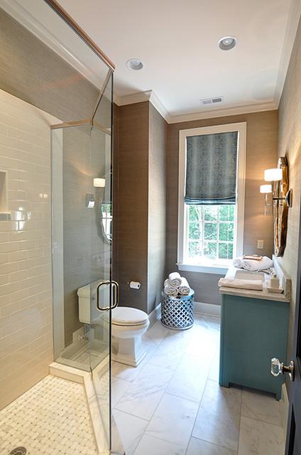Bathroom contemporary bathroom charlotte by evaru for Bathroom interior design charlotte nc