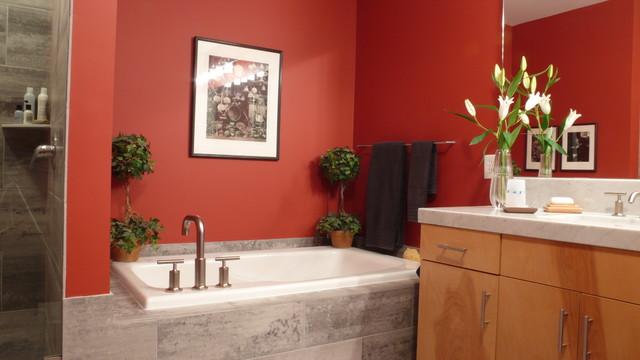 bathroom facelift traditional-bathroom