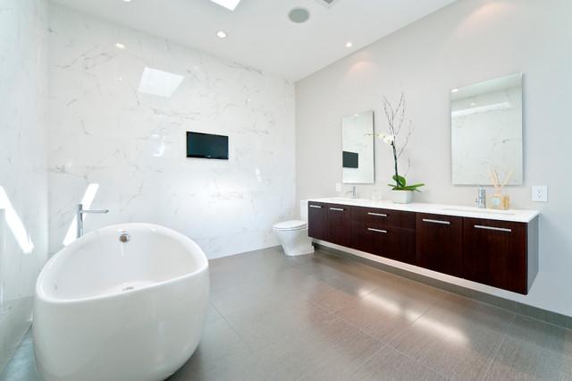 Bathroom - Floating Vanity Lyptus - Contemporary ...