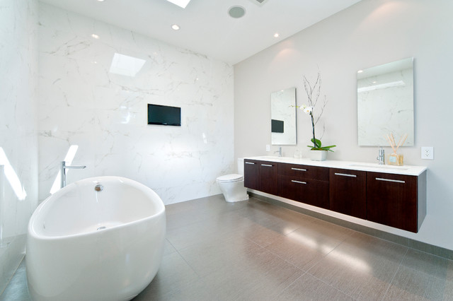 Bathroom - Floating Vanity Lyptus - Contemporary - Bathroom - san ...