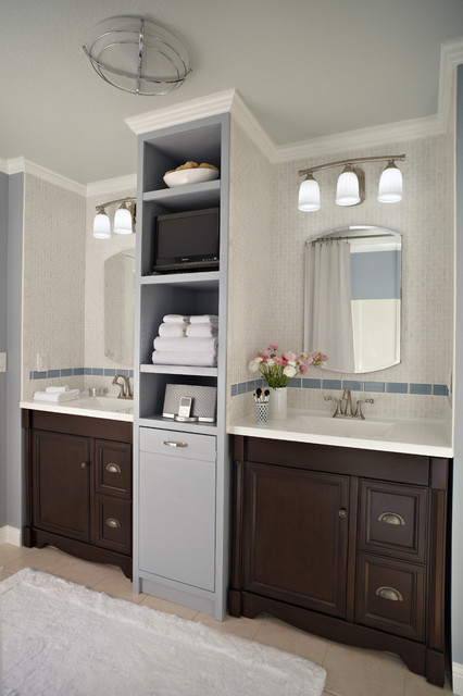 Bathroom for Two - Traditional - Bathroom - by Lowe's Home Improvement