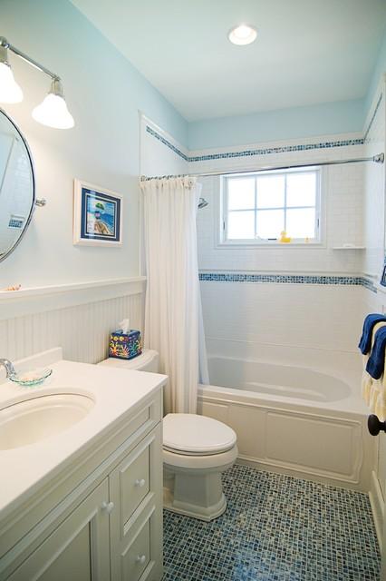 Martins Point Custom Home 2 beach-style-bathroom