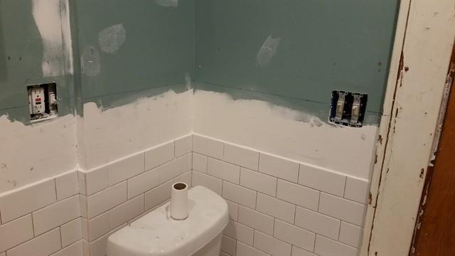 Bathroom Gut Contemporary Bathroom New York By