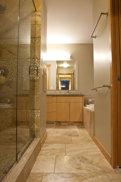 Bathroom contemporary bathroom edmonton by habitat for Bathroom ideas edmonton